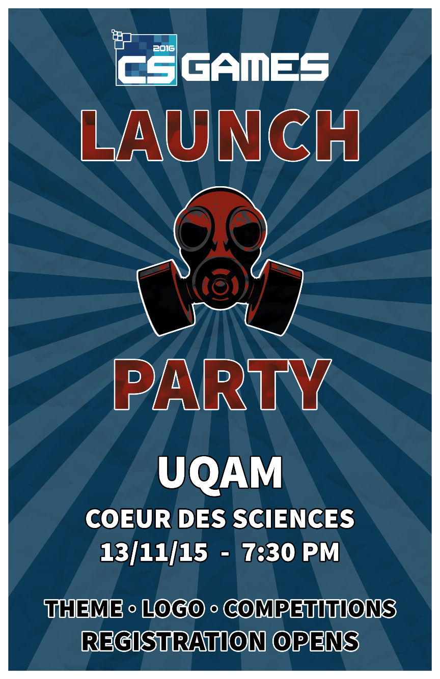 this years launch event is going to take place at uqams coeur des sciences building co r700 if youre planning to attend please mention it in our - Launch Party Invitation